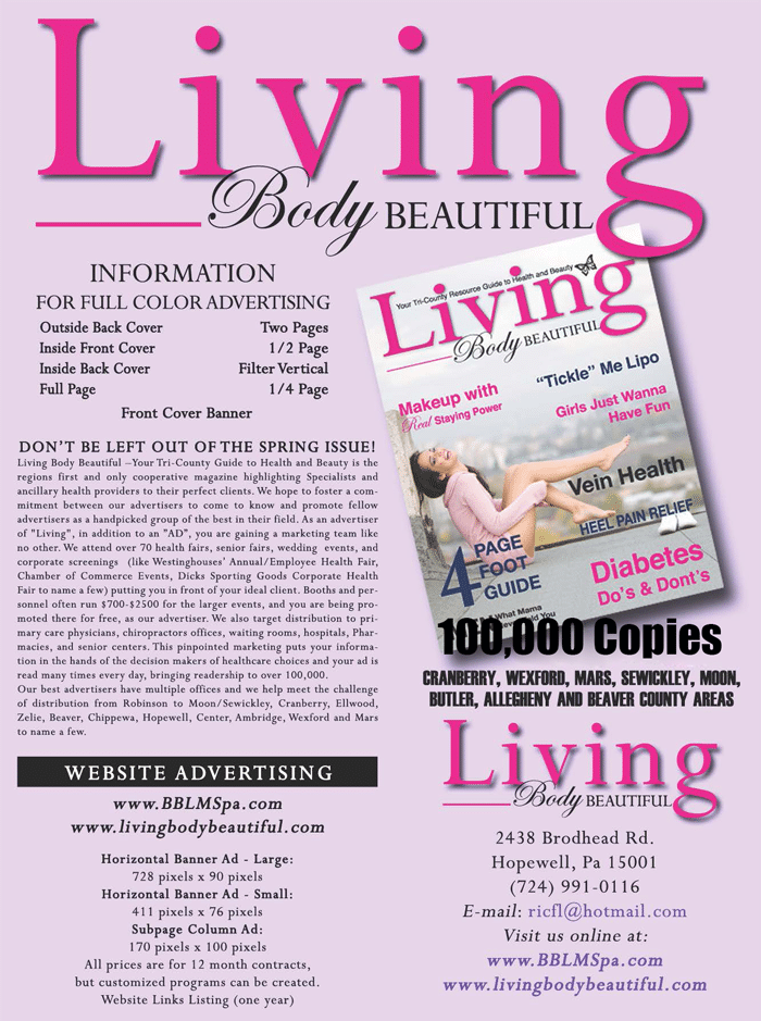 Living body Beautiful,Infomation,100,000,plus copies,